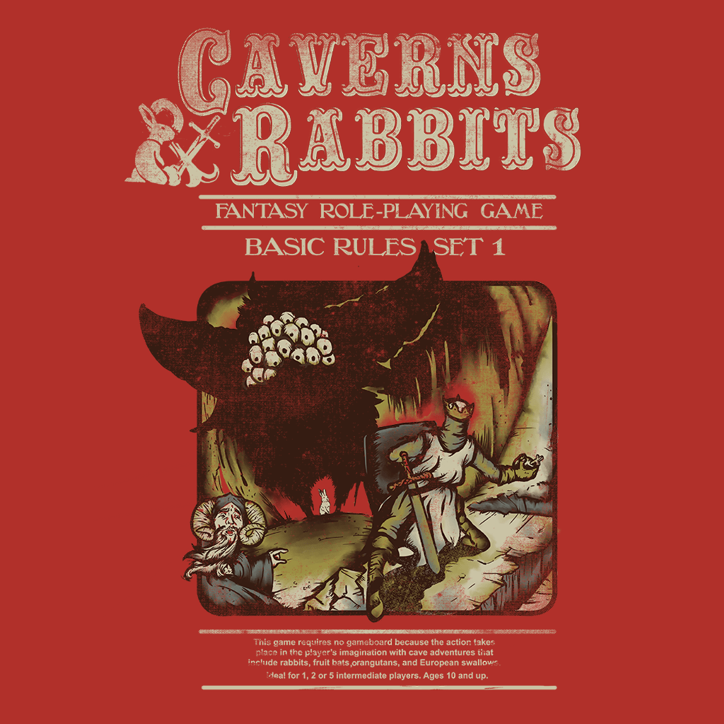 Pop Vulture: Caverns and Rabbits by Creative Outpouring