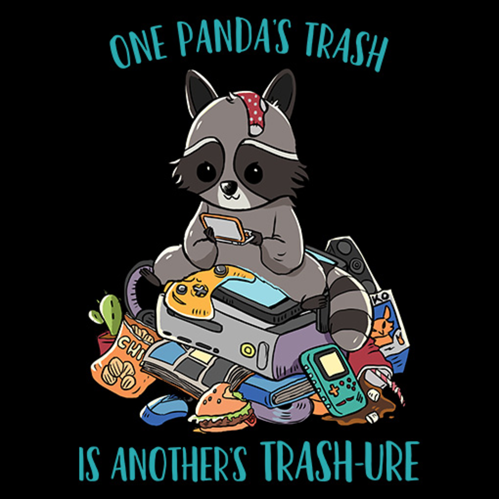MeWicked: One Panda's Trash Is Another's Trash-Ure - Cute Racoon, Trash Panda