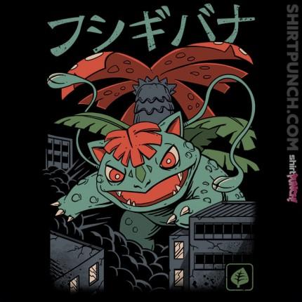 ShirtPunch: Grass Kaiju