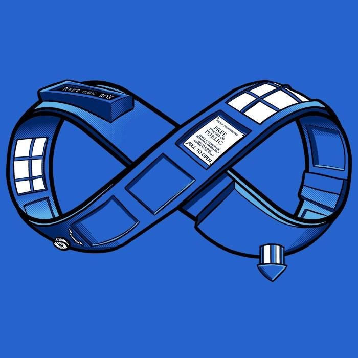 Blue Box Tees: Infinity Phone Box