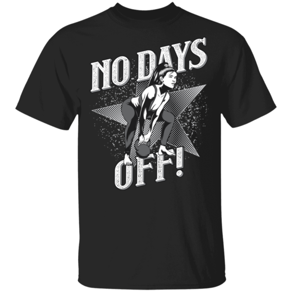 Pop-Up Tee: No Days Off
