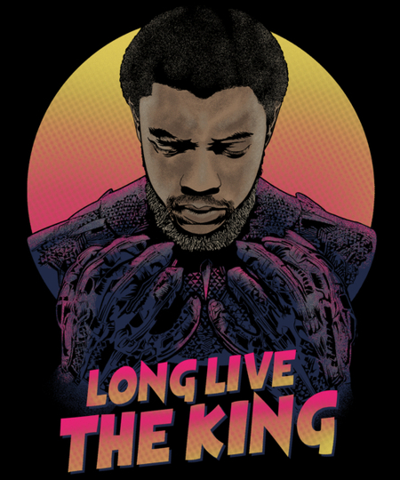 Qwertee: Long Live The King