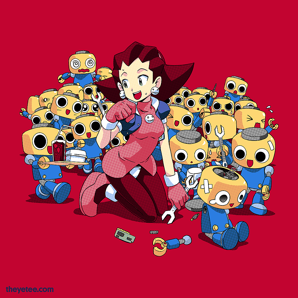 The Yetee: Helping Hand