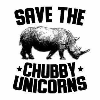 BustedTees: Save the Chubby Unicorns