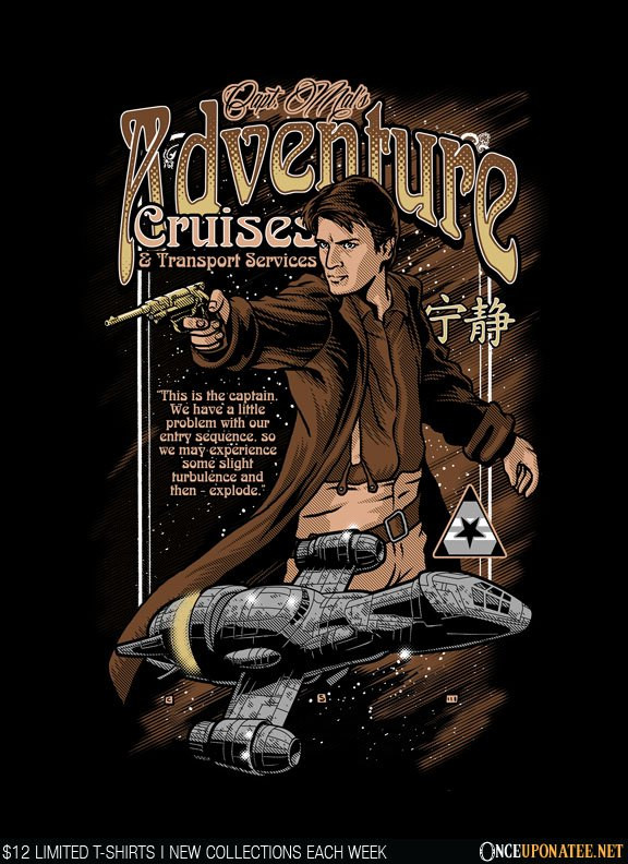 Once Upon a Tee: Capt. Mal's Adventure Cruises