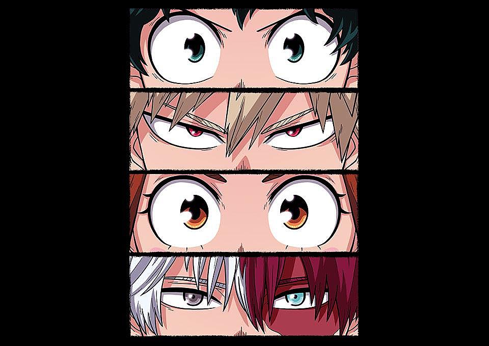 TeeFury: Hero Eyes