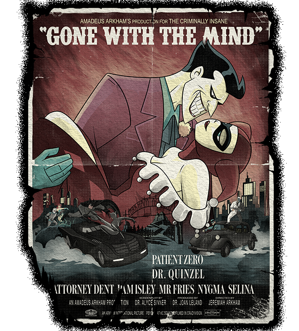 teeVillain: Gone With The Mind