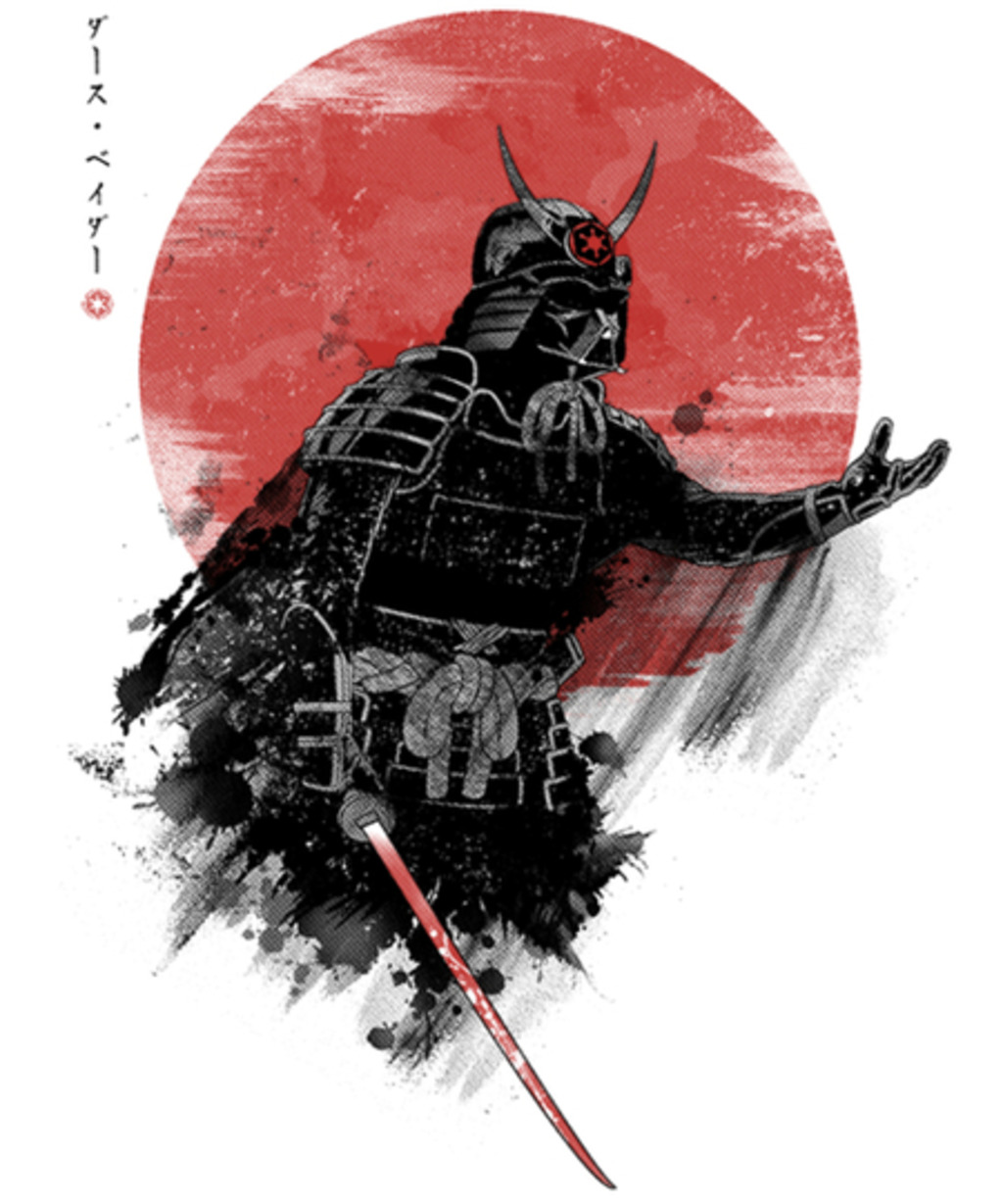 Qwertee: Darth Samurai
