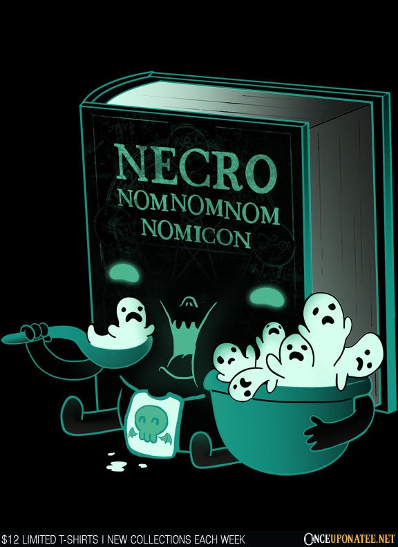 Once Upon a Tee: Necronom-nom-nom-icon
