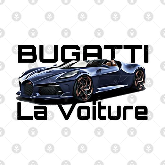 TeePublic: Bugatti La Voiture