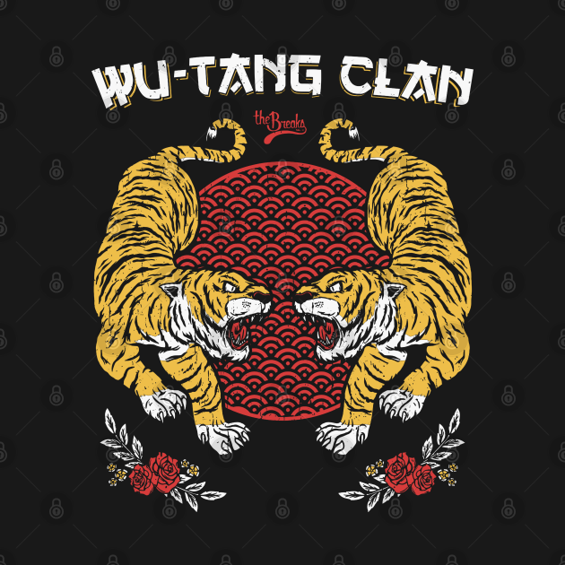 TeePublic: Wu tang clan tiger