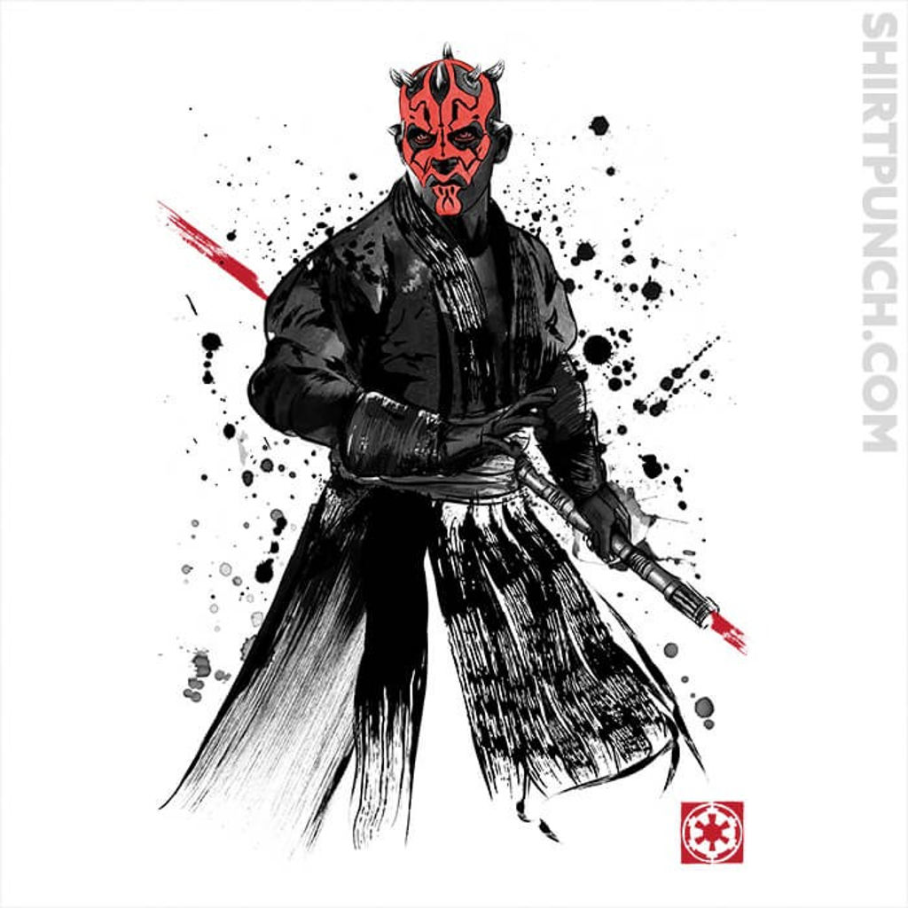 ShirtPunch: Darth Lord Sumi-e