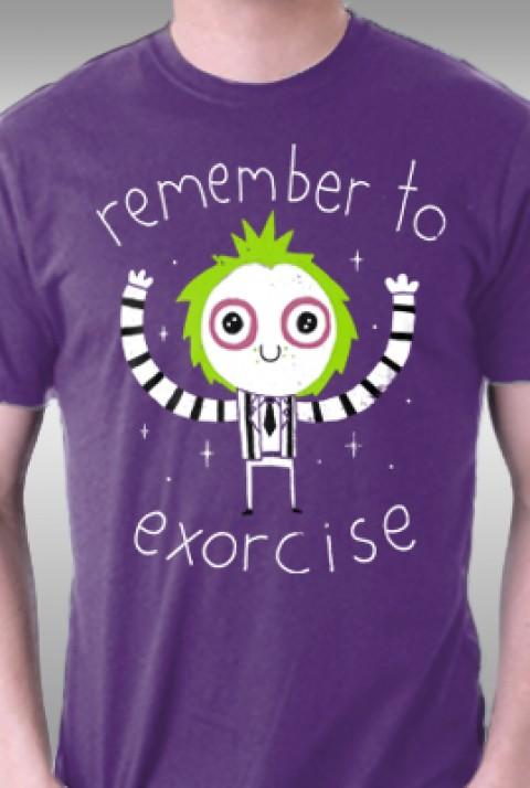 TeeFury: Remember to Exorcise