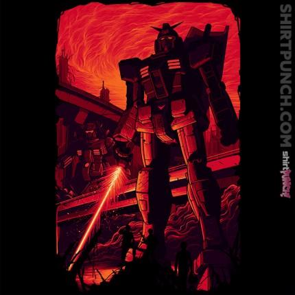 ShirtPunch: Closer Quarters Combat Mobile Suit