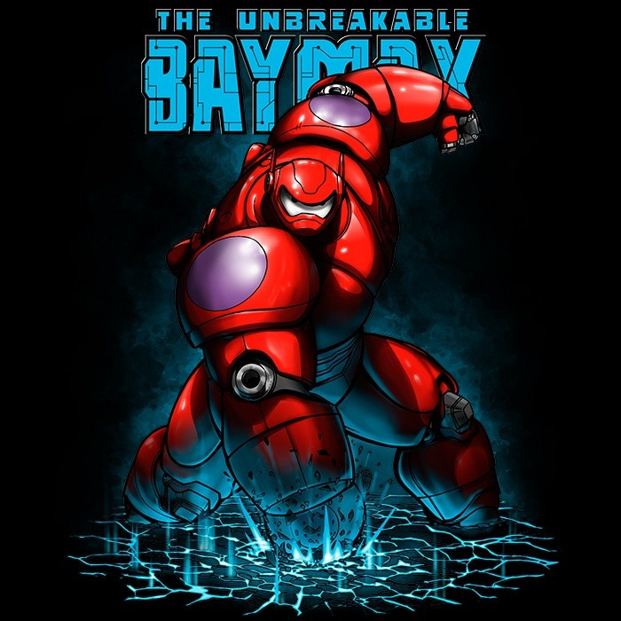 We Heart Geeks: The Unbreakable Baymax - Men's T-Shirt