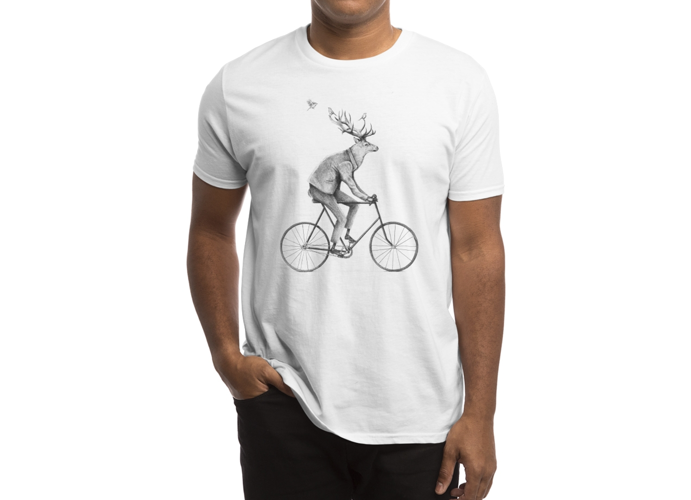 Threadless: Even a Gentleman rides