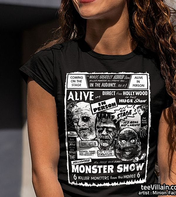 teeVillain: Monster Show