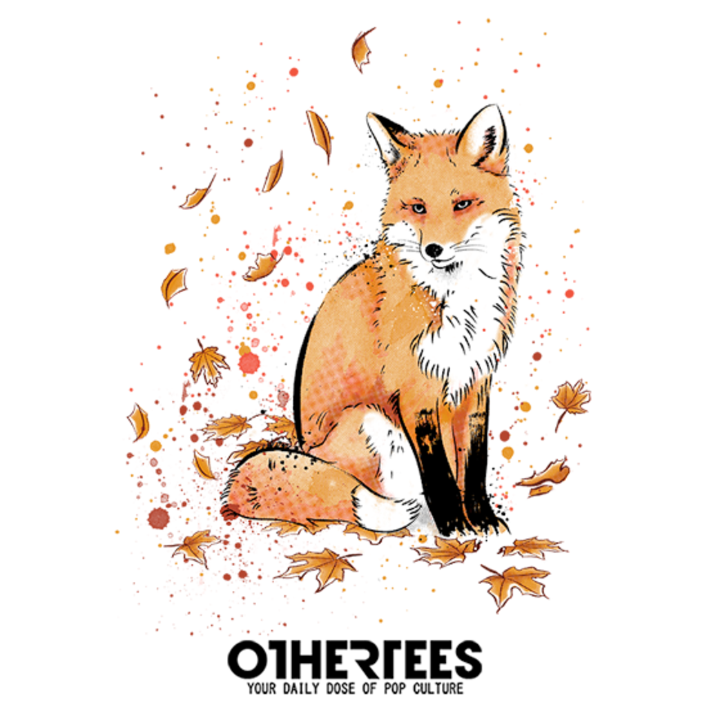 OtherTees: Fox in the Snow
