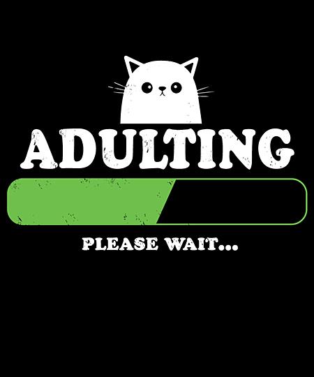 Qwertee: adulting