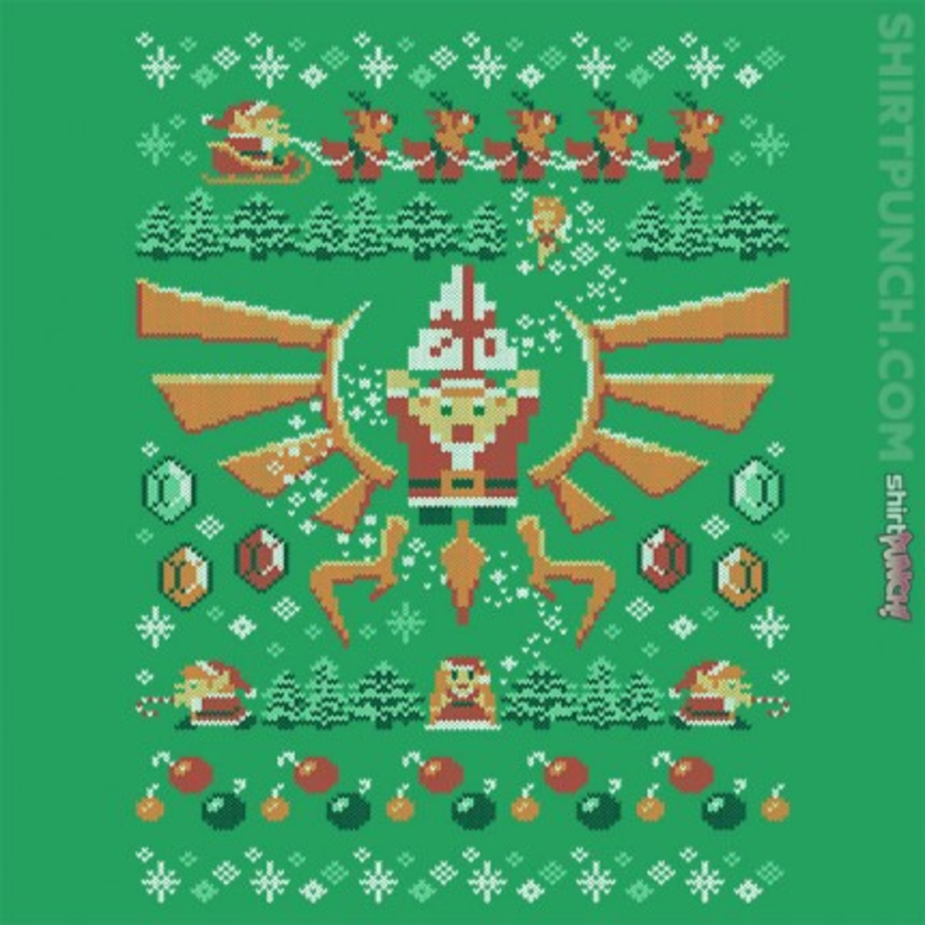 ShirtPunch: Merry Linkmas