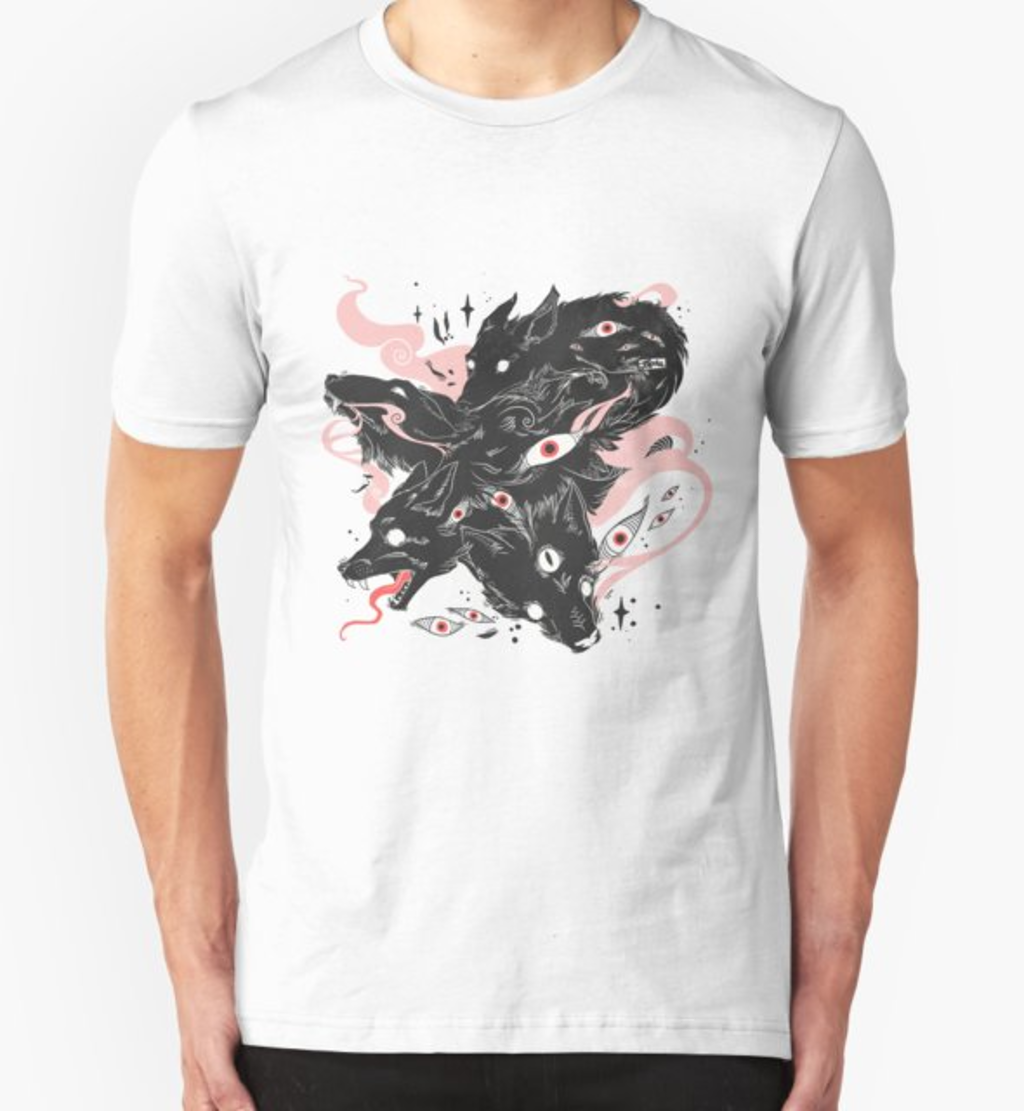 RedBubble: Wild Wolves With Many Eyes