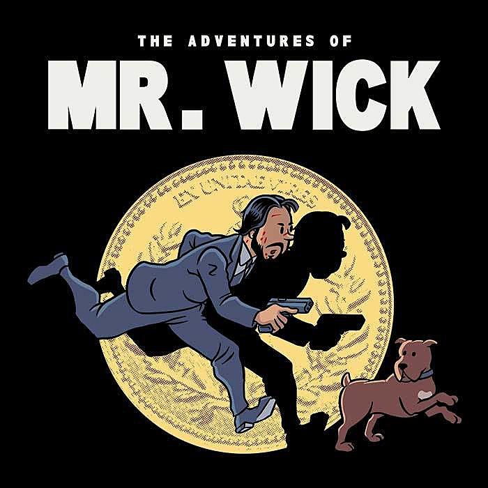 Once Upon a Tee: The Adventures of Mr. Wick
