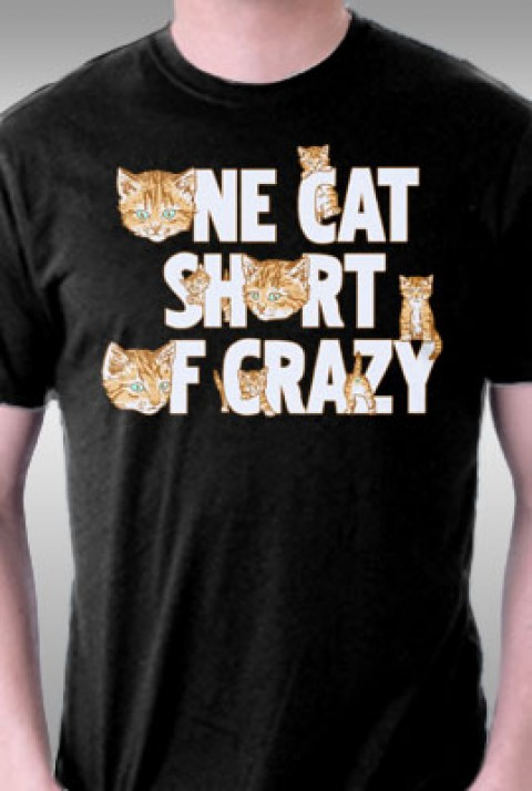 TeeFury: One Cat Short of Crazy