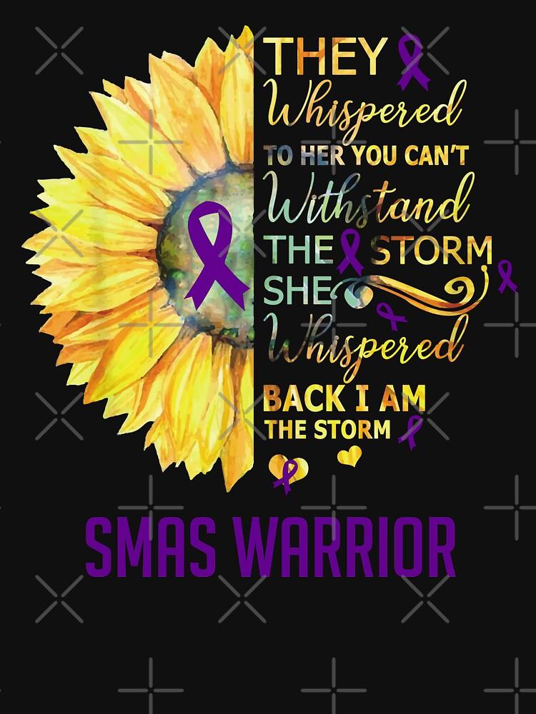 RedBubble: Superior Mesenteric Artery Syndrome SMAS Awareness Warrior Support Survivor Purple Ribbon Gifts