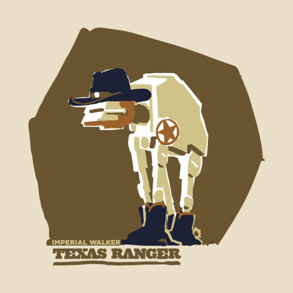 TeePublic: Imperial Walker: Texas Ranger