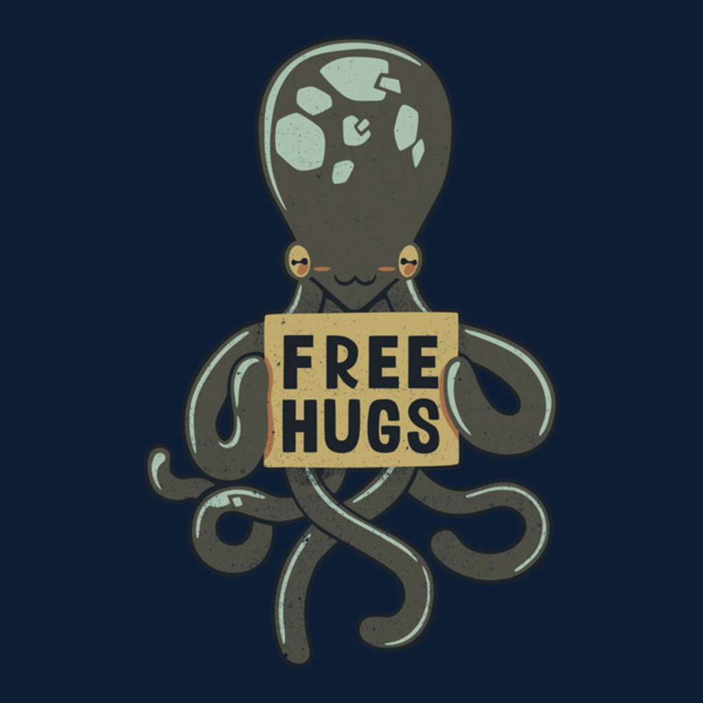 NeatoShop: Free Hugs Octopus