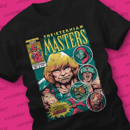 ShirtPunch: Eternian Masters