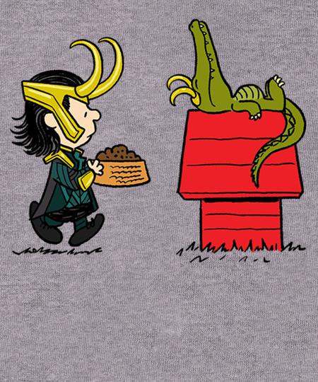 Qwertee: It's the Great Alligator, Loki