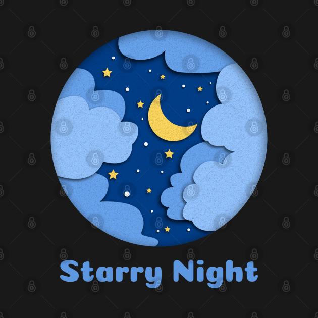 TeePublic: Starry Night
