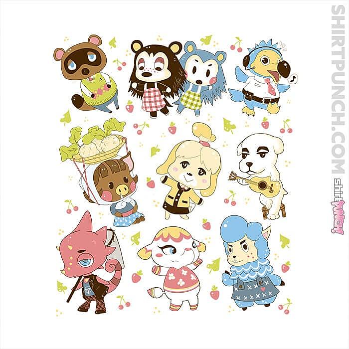 ShirtPunch: Cute Bunch