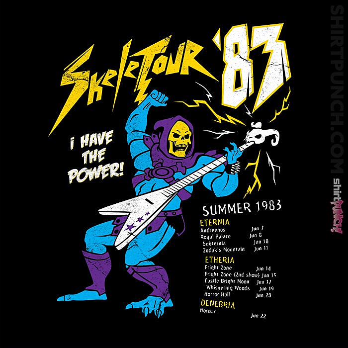 ShirtPunch: Skeletour 83
