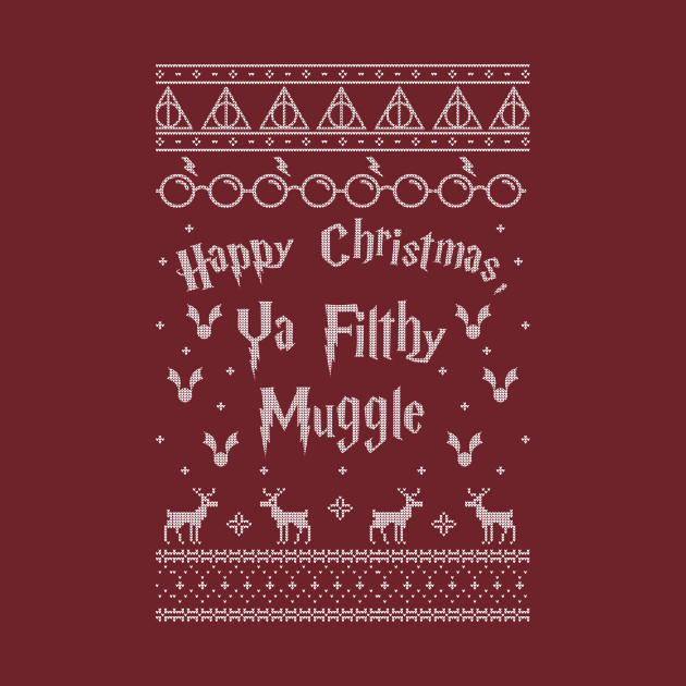 TeePublic: Harry Potter Christmas Sweater