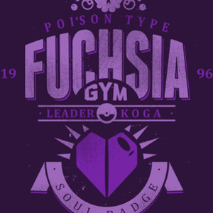 Once Upon a Tee: Fuchsia City Gym