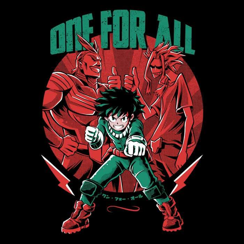 Once Upon a Tee: One For All