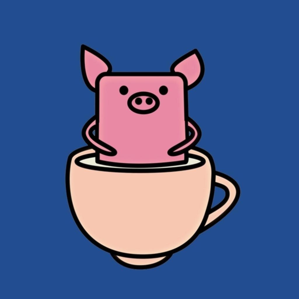 BustedTees: Teacup Pig