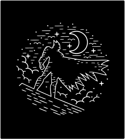 Shirt Battle: Darkest Night
