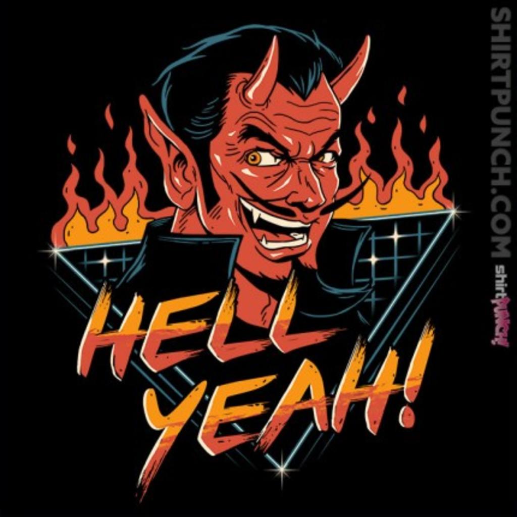ShirtPunch: Hell Yeah!