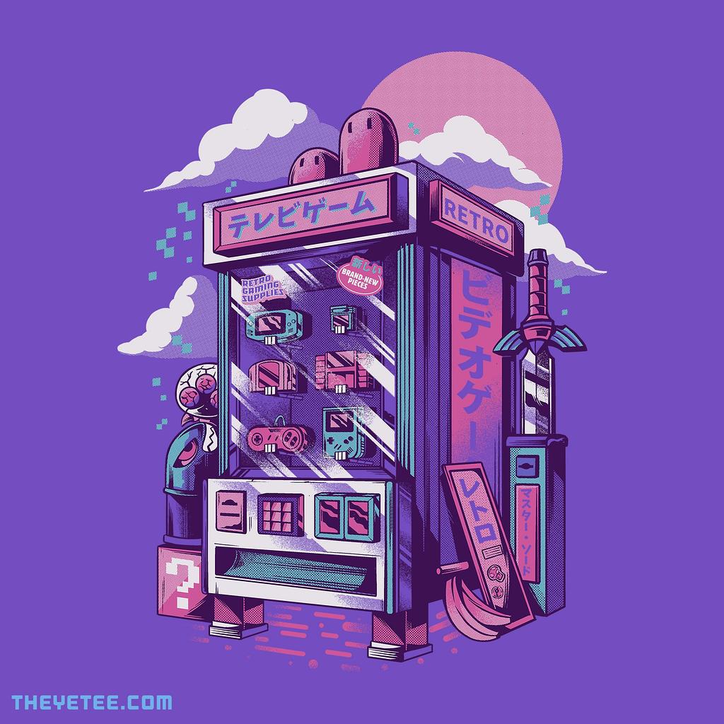 The Yetee: Retro gaming machine