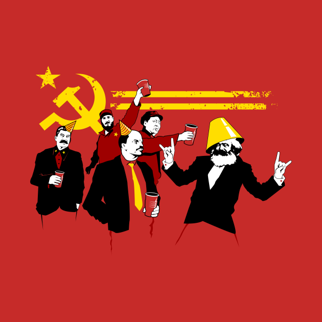 TeePublic: The Communist Party (original)
