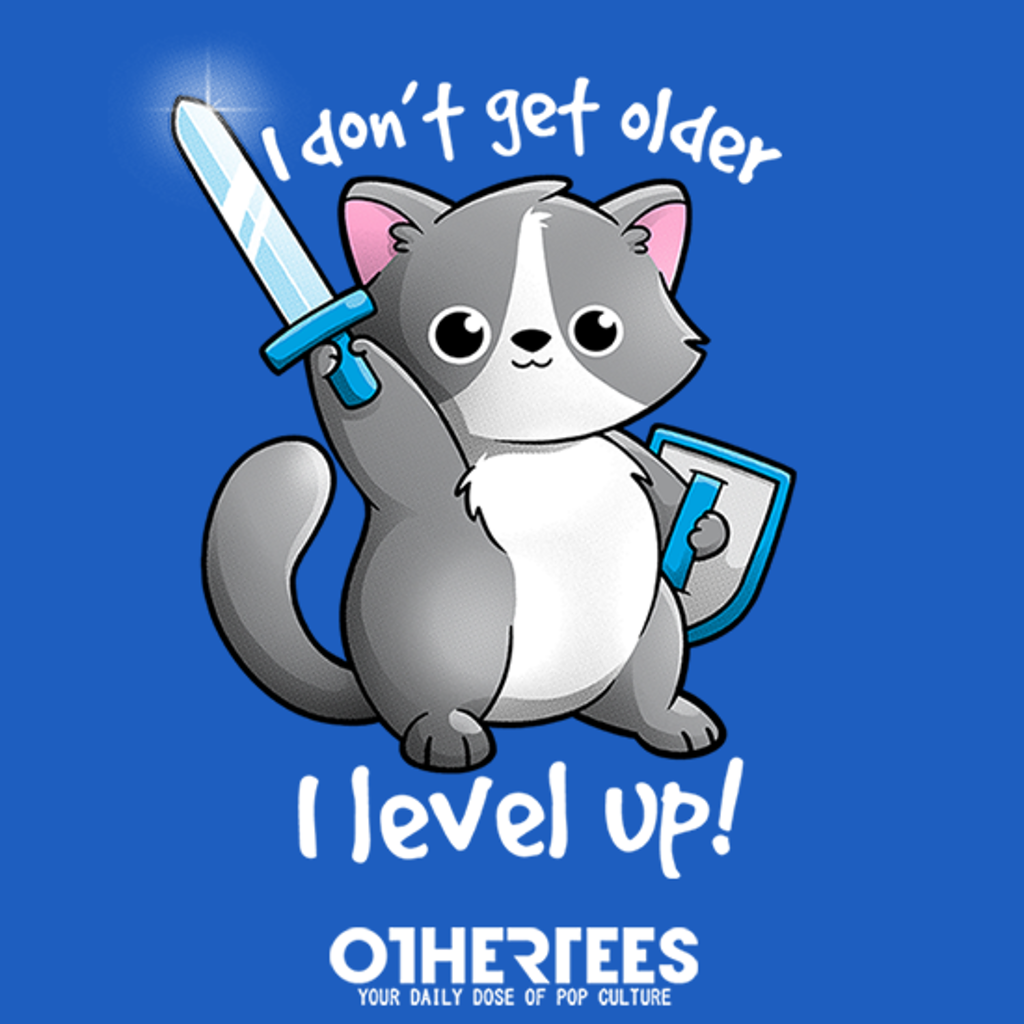 OtherTees: Level up cat