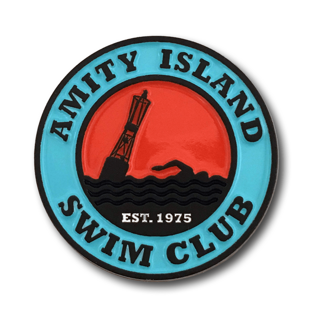 Pop Vulture: Amity Island Pin