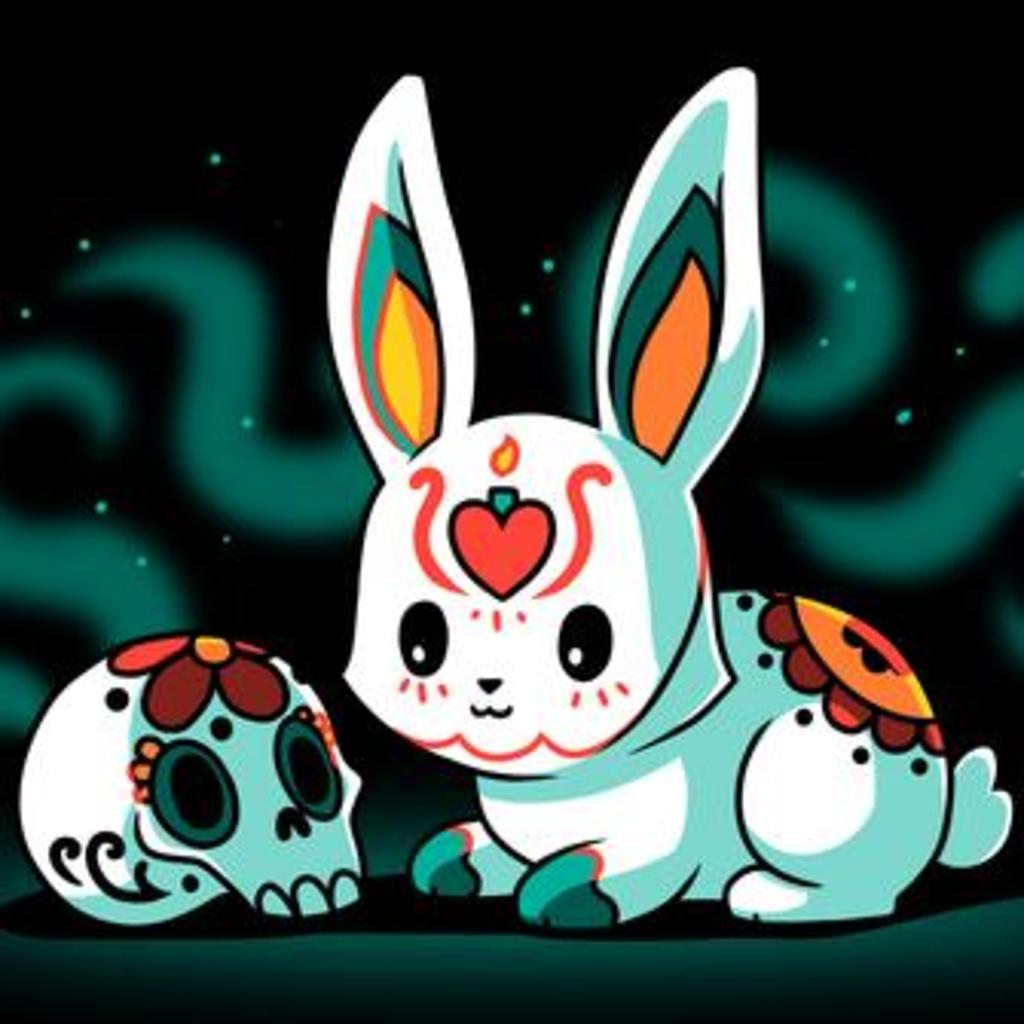 TeeTurtle: Dia de los Bunnies
