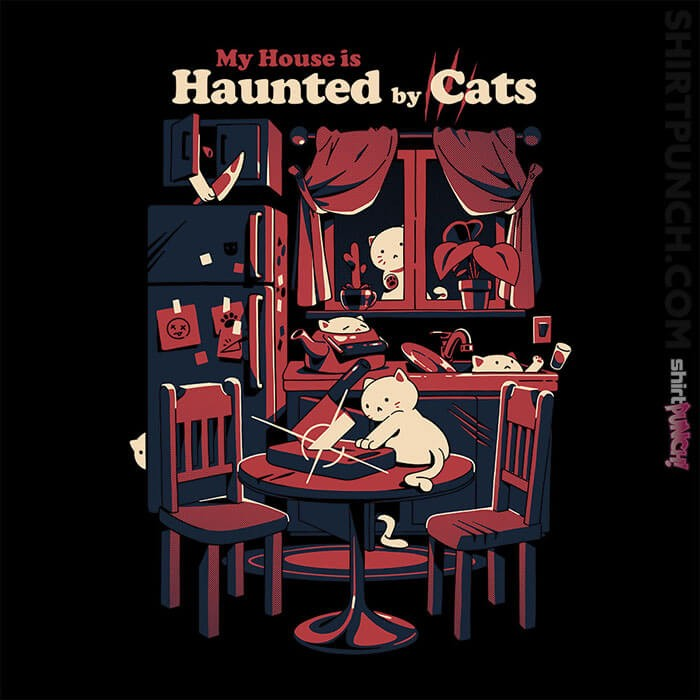 ShirtPunch: Haunted By Cats