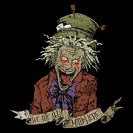 MeWicked: We're All Mad Here - Grunge Mad Hatter - Alice's Nightmare in Wonderland