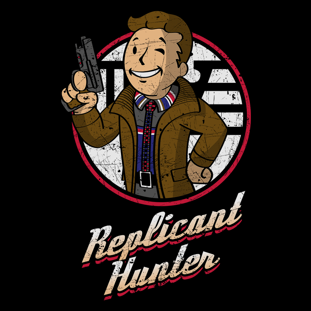 Pop-Up Tee: Replicant Hunter
