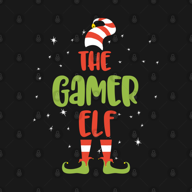 TeePublic: I'm The Camer Elf, Matching Family Funny Christmas